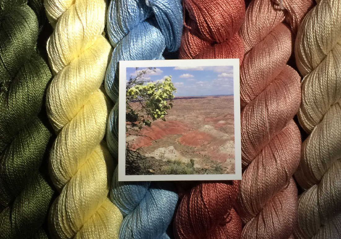 Painted Dessert Arizona yarn colors